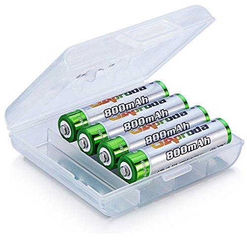 OAproda 単4形充電池 4本 ニッケル水素電池 AAA...