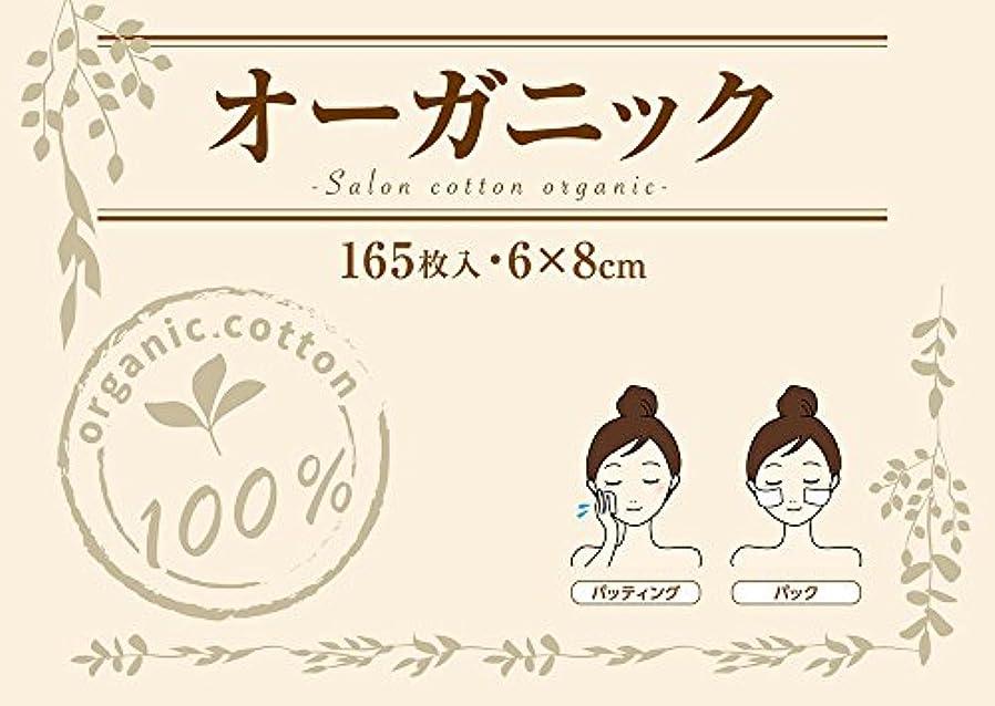 伝統アプト市長業務用 コットンパフ (6×8cm 165枚入 箱入り) 低漂白 サロンコットン オーガニック