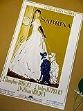 小ポスター、イタリア版「サブリナ」オードリー・ヘップバーン