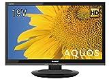 シャープ 19V型 AQUOS 液晶テレビ 2T-C19ADB 2T-C19ADB