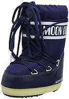 [Tecnica] レディース メンズ MOON BOOT NYLON-W US サイズ: 35-38 EU (3-6.5 M US Women's) カラー: ブルー