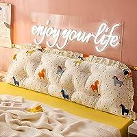 JWWOZ 枕アクティブな印刷と染色綿枕交換可能なカバーウェッジ枕ライブバックル取り外し可能な読み取り背もたれクッション (Color : H, Size : 120cm)