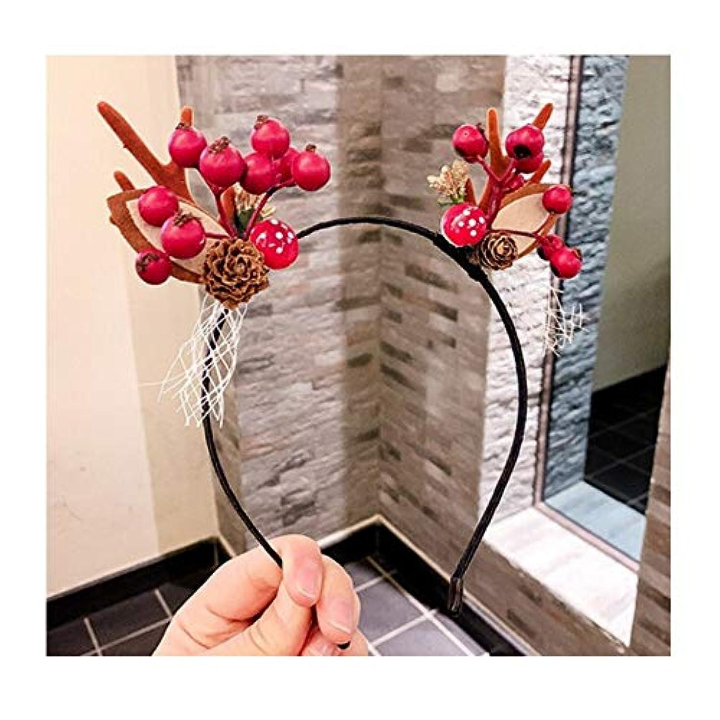 溶融尊敬するスライムヘッドバンドのクリスマスは、ヘッドバンド、小さな枝角は5つのスタイルオプションの頭飾り女性のヘアピンエルフスーパー妖精の通りのヘアアクセサリーヘッドバンドムース (スタイル : A)