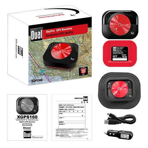 Dual XGPS160 SkyPro GPS Receiver 日本特別仕様版(技適マーク付き)