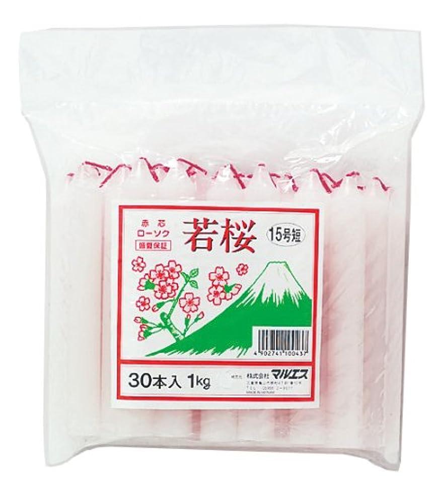 スパンブラスト深いマルエス 若桜 赤芯15号 短寸 1kg