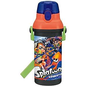 スケーター 直飲み 水筒 プラワンタッチ ボトル 480ml スプラトゥーン 日本製 PSB5SAN