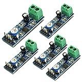 HiLetgo® 5個セット LM386 オーディオ アンプ オーディオ アンプ モジュール 20タイムズ AMP ソロ 5V-12V 10K調整 [並行輸入品]