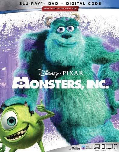[画像:Monsters, Inc. [Blu-ray]]