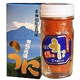 礼文島産 赤雲丹(粒うに) 60g 瓶詰め 北海道産 無添加 塩うに