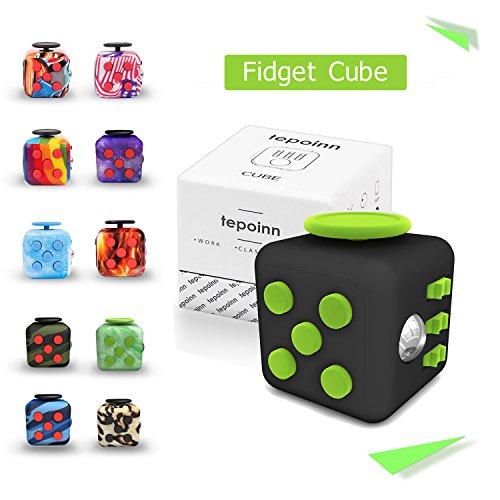 Tepoinn Fidget Cube ストレス解消キューブ 不安 緊張 リ...
