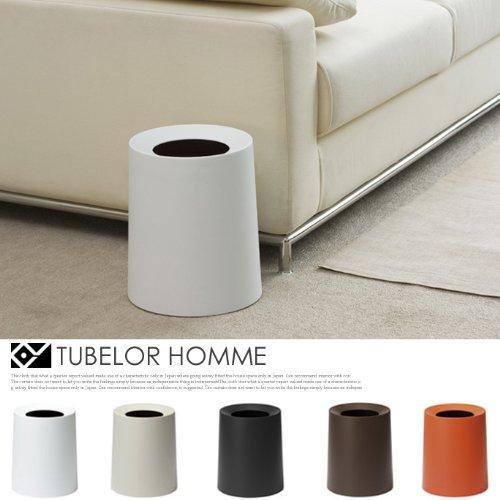 TUBELOR HOMME(チューブラー オム) ダストボックス イデアコ(ideaco) 全5色 リッチホワイト