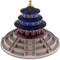 Fenteer 合金製 カフェ レストラン ホーム 装飾 小物 ヴィンテージ 天国の寺院 模型 モデル 天壇
