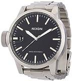 Nixon Men 's a198000–00プラスチックデジタルグレーダイヤル腕時計