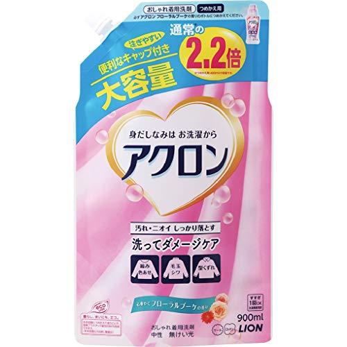 アクロン おしゃれ着洗剤 フローラルブーケの香り 詰め替え 900ml