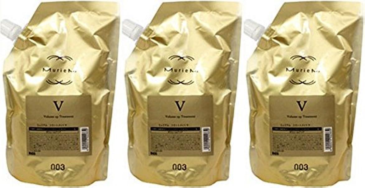 もバルブ価値のない【X3個セット】 ナンバースリー ミュリアム ゴールド トリートメント V 500g 詰替え用