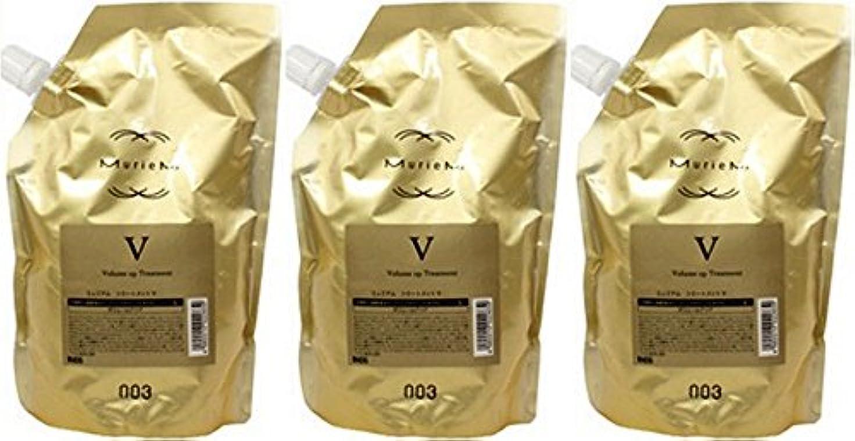 旅行者穀物省略【X3個セット】 ナンバースリー ミュリアム ゴールド トリートメント V 500g 詰替え用
