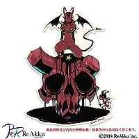悪魔と髑髏-強粘着・UVカット・耐水ステッカー (3.Lサイズ)