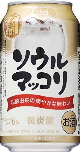 サントリー ソウルマッコリ 缶350ml×24