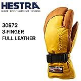 HESTRA(ヘストラ) ヘストラ スキーグローブ ミトン 3-FINGER FULL LEATHER YELLOW CORK(30872-440710)(16-17 2017)hestra スキーグローブ 7