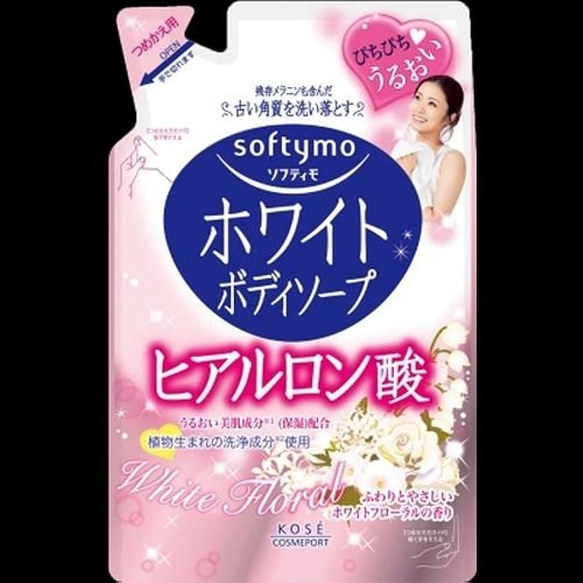 変装酸霧ソフティモ ホワイト ボディソープ ヒアルロン 詰替用 420ml ×2セット
