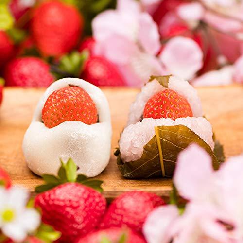 いちご大福 いちご桜餅 15入 / 岐阜 良平堂
