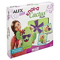 ALEX Toys Alex Diy Knot Cactus Plush, Green