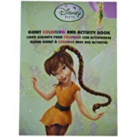 Tinkerbell Coloring Book - Disney Fairies Tinkerbell Tri-Lingual Jumbo Coloring And Activity Books (1 Book) by Parragon [並行輸入品]