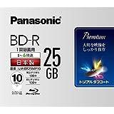 パナソニック 6倍速ブルーレイディスク片面1層25GB(追記型)10枚P