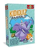 Bioviva 500111 Kidiquiz Riddles-The Mystery of Animals カードゲーム、マルチカラー