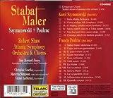Szymanowski & Poulenc: Stabat Maters 画像