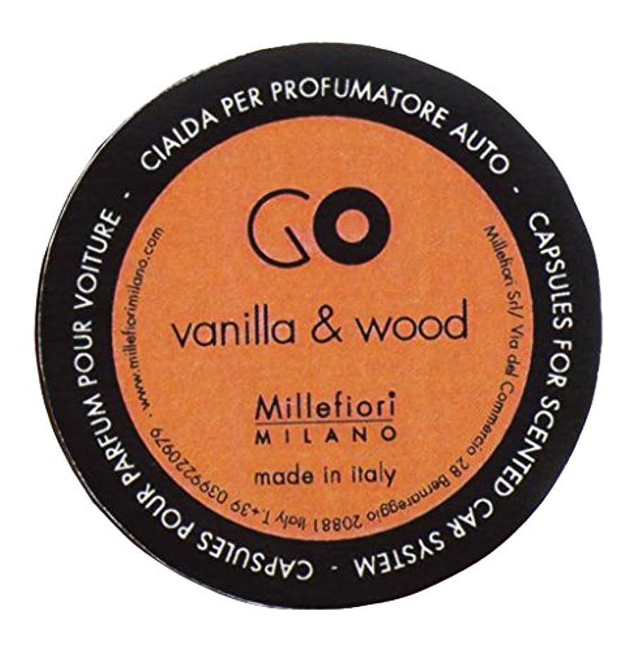 ランプクレーター鉛筆Millefiori カーエアフレッシュナー GO レフィル バニラウッド 1pcs RGDV