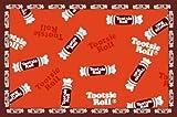 LA Rug Tootsie Roll Candy Rug 19x29 by LA Rug
