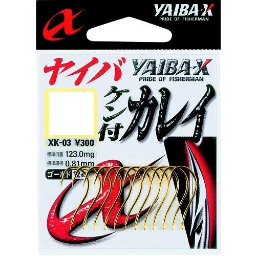 ささめ針(SASAME) XK-05 ヤイバケン付カレイ(ブラック) 13号