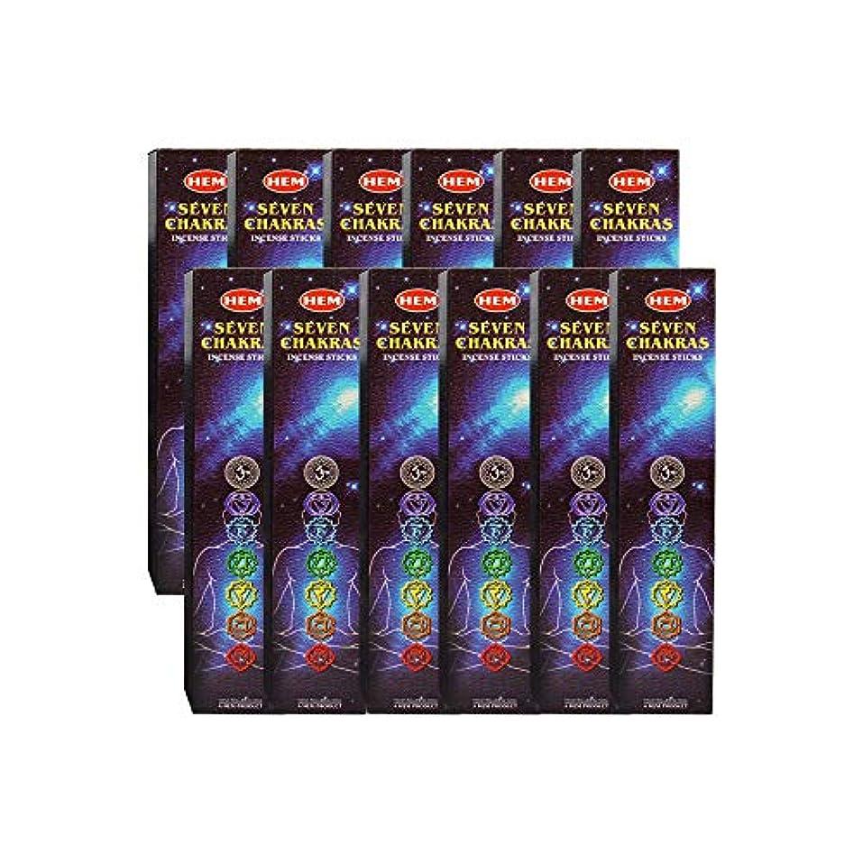 薬を飲むマージンハーフ7チャクラ裾Incense Sticks -35 Sticks Pk ( 12 /ボックス)