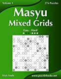 Masyu Mixed Grids - Easy to Hard - 276 Puzzles