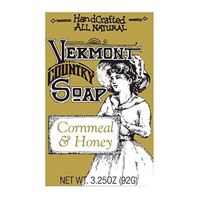 ホラーマラソン腸バーモントカントリーソープ (コーンミールハニー) オーガニック石鹸 洗顔 92g