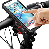 Dohiker 自転車 スマホホルダー iPhone7 Plus専用サイズ 360°回転 防水 防塵 防震 バイク自転車対応 タッチ操作 指紋認識 ハンドルケース