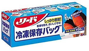 リード 冷凍保存バッグ 中20枚 | リード | 保存用バッグ・ポリ袋 通販