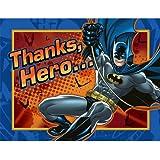 Batman Heroes and Villains Thank-You Notes バットマンヒーローと悪役がお礼の注意事項?ハロウィン?クリスマス?