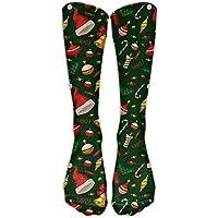 Style Unisex Socks Casual Knee High Stockings Christmas Gift Cotton Socks One Size