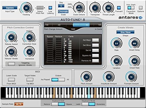 『並行輸入品』◆超定番 Antares Auto-Tune 8 Native ボーカルピッチ編集ツール◆ノンパッケージ/ダウンロード形式
