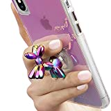 Case-Mate バルーン ドッグ 吸盤式 犬型 スタンド スマホ 汎用 イリデセント Stand Ups iPhone XS/XR/X / 8 / 8 Plus/Galaxy アイフォン ギャラクシー CM037178