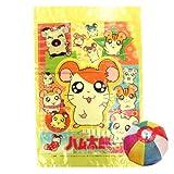 綿菓子袋 とっとこハム太郎(100入)  / お楽しみグッズ(紙風船)付きセット [おもちゃ&ホビー]