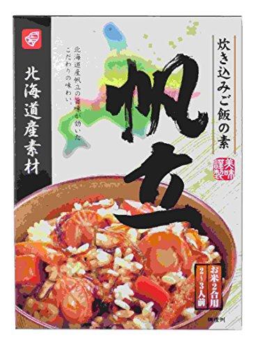 ベル食品 北海道産素材炊き込みご飯の素帆立 170g