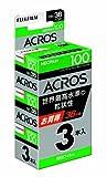FUJIFILM 黒白ネガフイルム ネオパン 100 ACROS 35mm 36枚 3本 135 ACROS 100 36EX 3SB