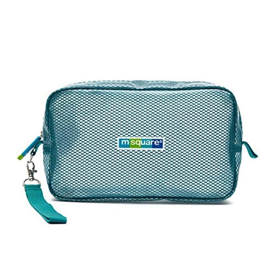 お母さん広がり特徴BALLEEY 男性と女性のポータブルPVC防水収納ウォッシュバッグトイレタリーバッグ回転調節可能な大容量引き出しタイプ多機能 (色 : 青)