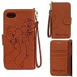 iphone8 iphone7 ケース ディズニー 手帳 かわいい 手帳型 アイフォン8 アイフォン7 ディズニー7 チップ デール スマホケース (チップ&デール) [並行輸入品]
