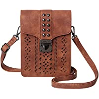 f329ae64f4 MINICAT Women Hollow Texture Series Small Crossbody Bags Cell Phone Purse  Wallet For Women