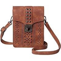 MINICAT Women Hollow Texture Series Small Crossbody Bags Cell Phone Purse Wallet For Women