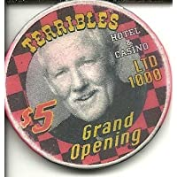 $ 5 TerriblesラスベガスカジノチップGrand Opening Limited